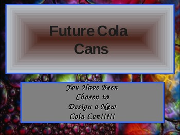 Redesign the Cola Can Project (Formulas)