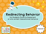 Redirecting Behavior TEMPLATES