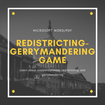 Gerrymandering Worksheets & Teaching Resources | TpT