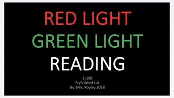 Redlight Greenlight Reading Fry's 1-100