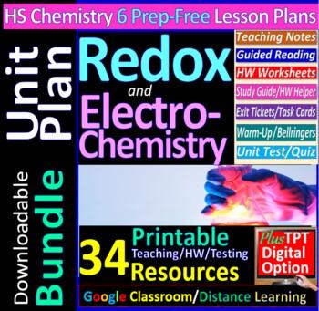 Redox & Electrochemistry Topic Bundle: 5 Essential Skills Worksheets