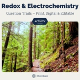 Redox Reactions & Electrochemistry Active Review Question Trails - Print Digital