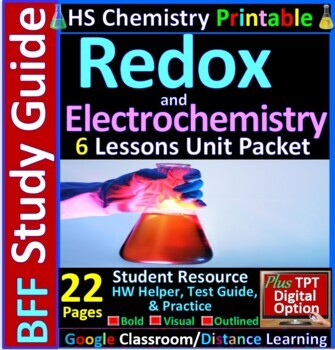 Redox and Electrochemistry BFF: Homework Helper and Test P