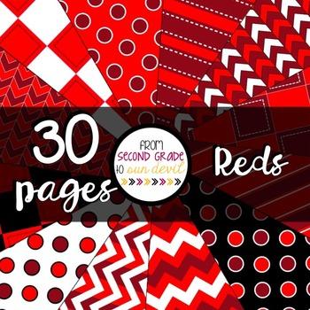 Reds Digital Paper