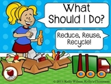 Reduce Reuse Recycle Compost Sorting Activity (science, Earth Day, environment)