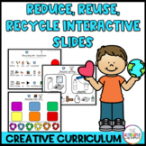 Reduce, Reuse, Recycle Creative Curriculum Distance Learni