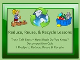 Reduce, Reuse & Recycle Lessons & Activities - Earth Day