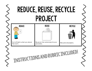 Reduce Reuse Recycle Project