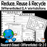 Reduce Reuse & Recycle Reading Centers