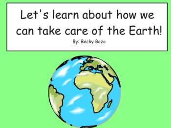 Reduce, Reuse, Recycle!  Smart Board Lesson