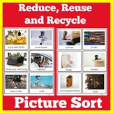 Reduce Reuse Recycle Activity Cards