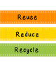 Reduce, Reuse, Recycle Sorting Activity