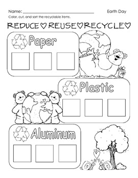Earthday Recycled Projects