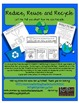 Reduce, Reuse and Recycle 3 response pages to identify ways to recycle!