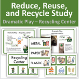 Reduce, Reuse, and Recycle Study - Dramatic Play: Recycling Center