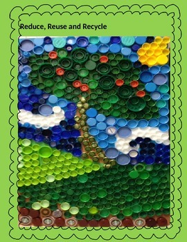 Reduce, Reuse and Recycle class poster