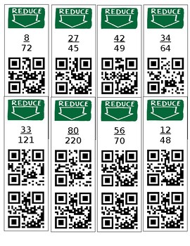 Reducing Fraction QR Code Check