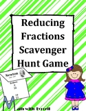 Reducing Fraction Scavenger Hunt Game