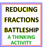 Reducing Fractions Battleship