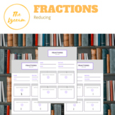 Reducing Fractions (FREE)