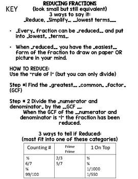 Reducing Journal Notes