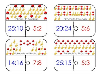 Reducing Ratios Puzzles