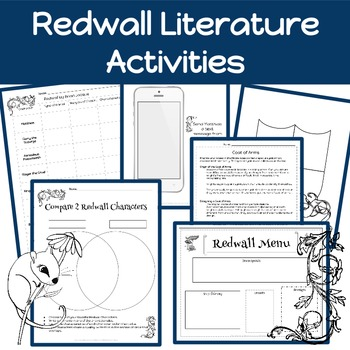 Redwall Activities: Brian Jacques- Redwall Literature