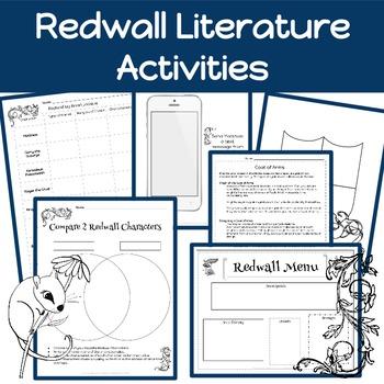 Redwall Activities: Brian Jacques- Redwall Literature
