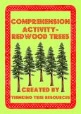 Redwood Trees Comprehension Activity