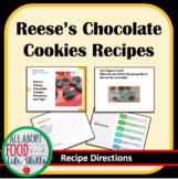 Reese's Chewy Chocolate Cookie Visual Directions