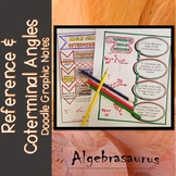 Reference Angles & Coterminal Angles Packet Doodle Graphic Organizer