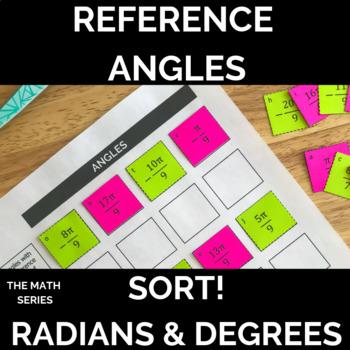 Reference Angles Sort!