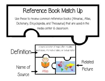 Reference Book Match Up