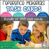 Reference Materials Task Cards Bundle
