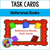 Reference Books Task Cards Bundle