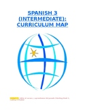 Reference - Curriculum Map: Spanish 3 (Units #1-6) for Int