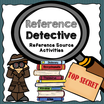 Reference Detective-NO PREP Packet