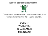 Reference Library Center - Habitats and the Encyclopedia