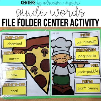 Reference Material File Folder Centers BUNDLE