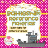 Reference Materials Battleship