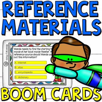 Reference Materials Boom Cards