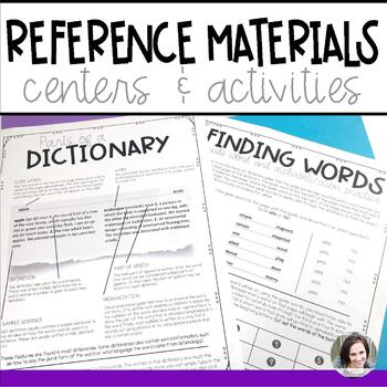 Reference Materials Centers and Activities