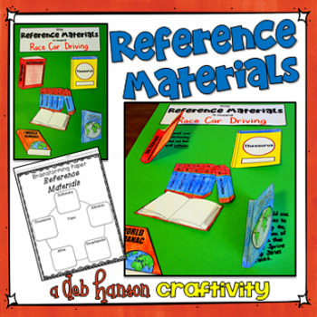 Reference Materials Craftivity