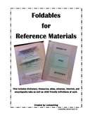 Reference Materials Foldables