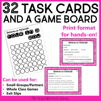 Reference Materials Game | Reference Materials Center