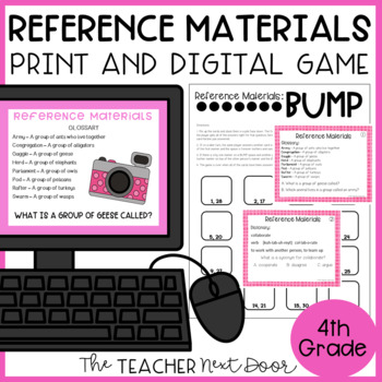 Reference Materials Game | Reference Materials Center Activity
