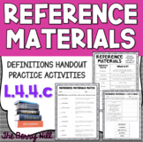 Reference Materials Handout