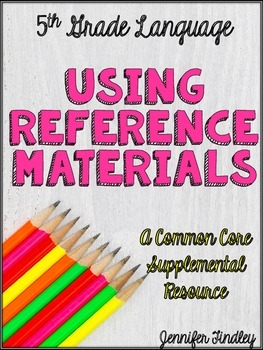 Reference Materials (L.5.4c)