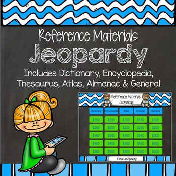 Reference Materials Library Jeopardy