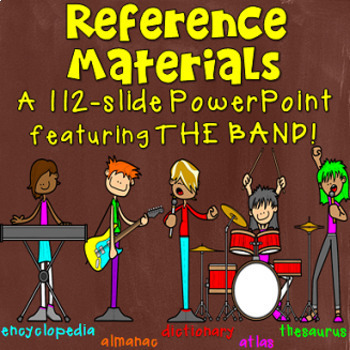 Reference Materials PowerPoint and companion handout